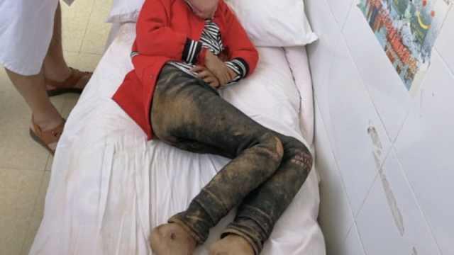 俩9岁女童山中走失7天,手脚都是伤