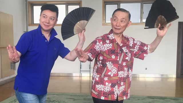 男旦胡文阁开腔丨深情忆师梅葆玖