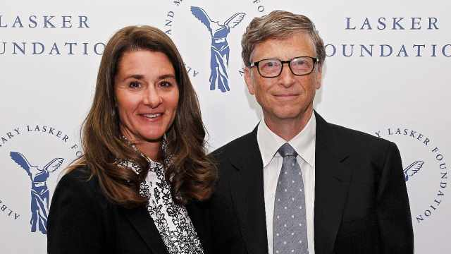 最慷慨富豪:盖茨夫妇1年捐47亿美元