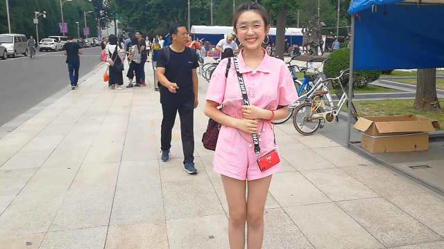加拿大华裔美女独爱清华:只报这个