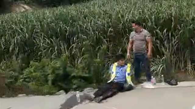 货车冲进事故现场,交警等3人被撞亡