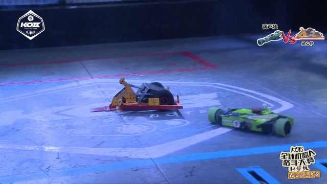 机器人格斗武汉决赛,实力的碾压