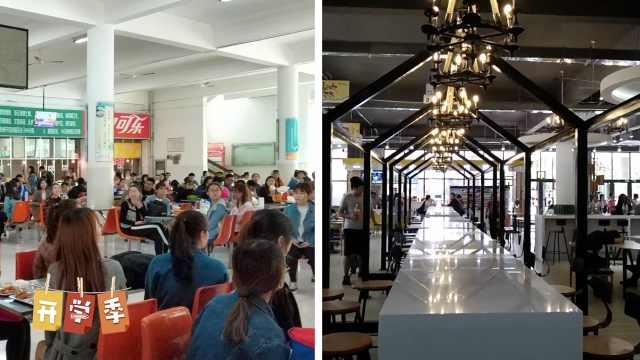 聊大造网红食堂,20米长桌可容60人