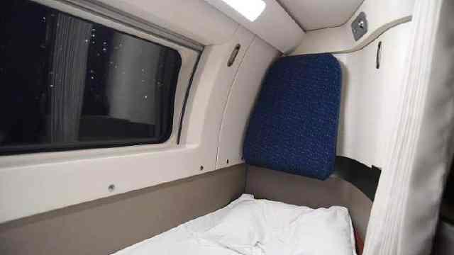 超赞!可以纵向睡的动卧列车