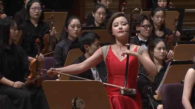 二胡与管弦乐《天马》