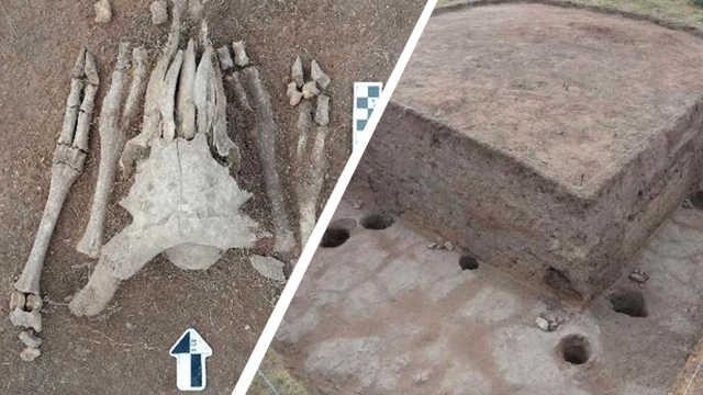 考古发现疑似匈奴统治中心龙?#19988;?#22336;
