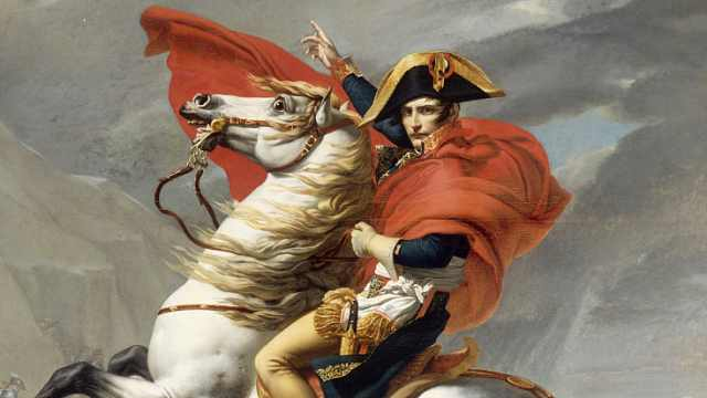 拿破仑竟靠一副画洗白人设!