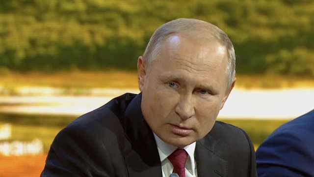 普京:俄前间谍中毒案嫌犯均为平民