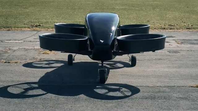 英国黑科技!垂直起降飞行汽车来了
