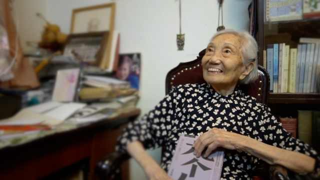 杨苡先生百岁生日:还要再写一本书