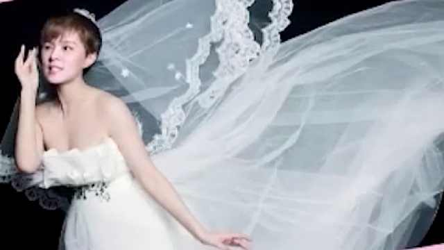 sunnee称最想尝试的造型是婚纱