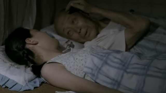 朱旭病中最后为蒋雯丽扮了个孙悟空