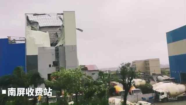 强台风山竹逼近,强风强雨影响珠海