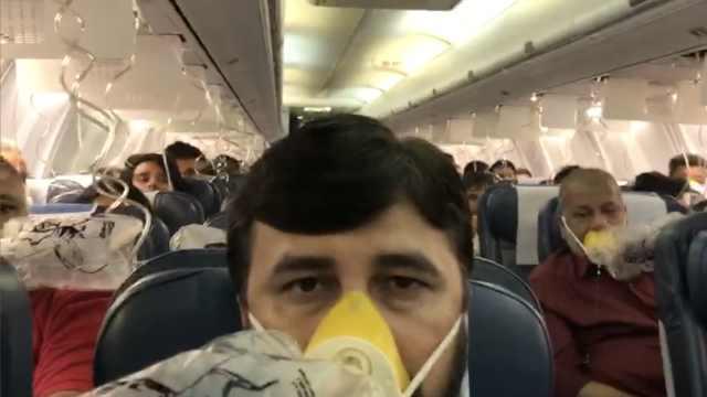 飞机刚起飞,30名乘客竟同时流鼻血