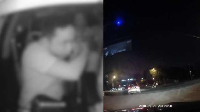 网约车纠纷乘客受伤,口角画面曝光