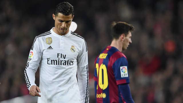 梅西C罗缺席颁奖礼,被批玷污足球