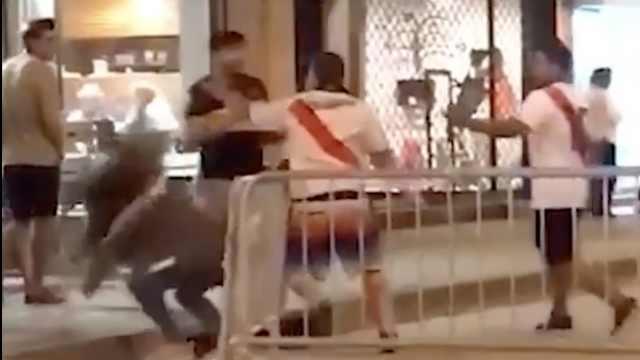阿根廷国家德比,博卡女球迷被暴打