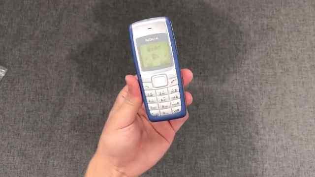 诺基亚1110手机开箱
