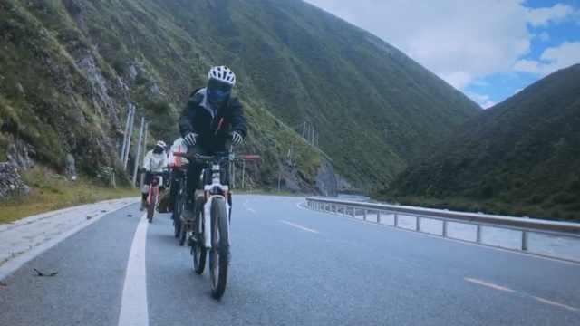 大学生骑行到西藏:感觉还是家里好