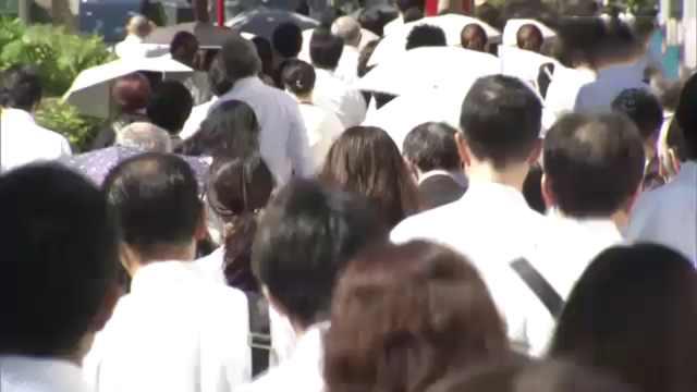 日本女性就业率43年来最高,超70%