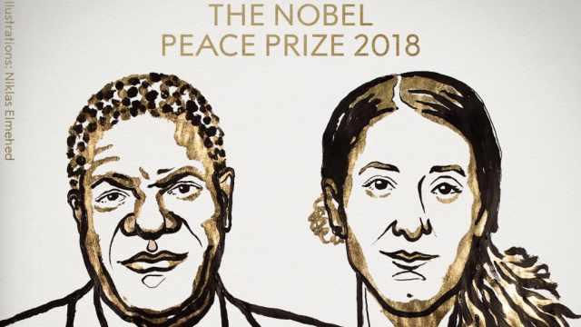 诺贝尔和平奖揭晓!反对性暴力