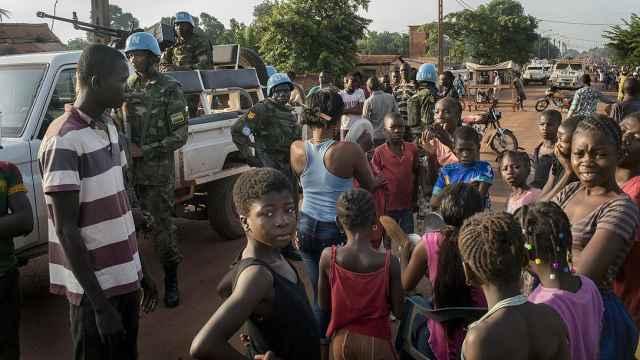 三中国公民在中非共和国遭暴徒打死
