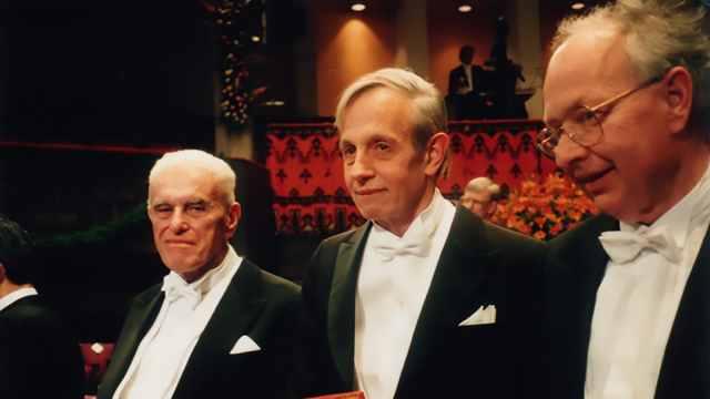 诺贝尔经济学奖经典一幕:约翰·纳什
