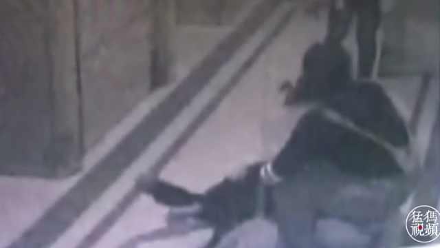 猛犸视频丨男子倒地 实习护士救人