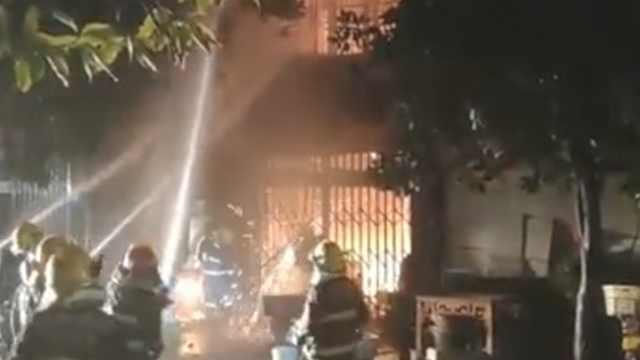 温州一民房凌晨突发大火,4人死亡