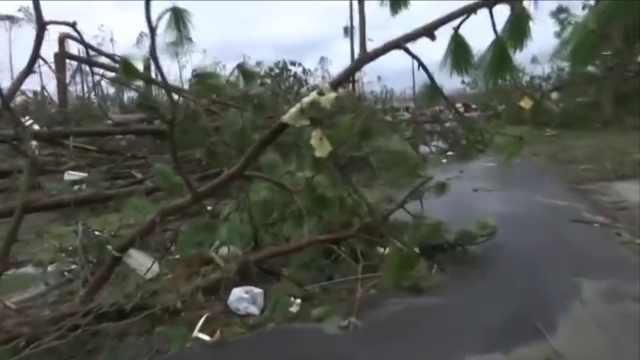 飓风突袭巴拿马城,当地居民谈经历