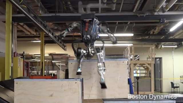 会后空翻的机器人现在会跑酷了