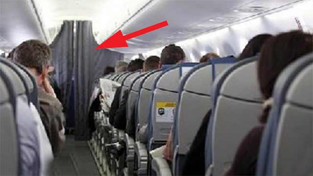 为何飞机起飞后,空姐把布帘拉上?