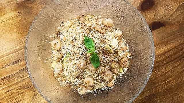 面包屑炒虾,好吃又简单易做!