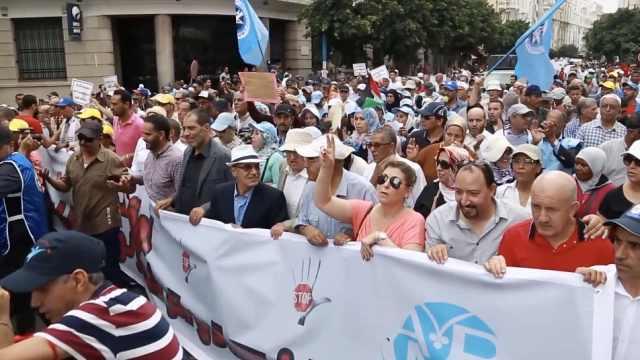 腐败猖獗,摩洛哥数百人街头抗议