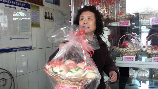 重阳节寿桃热卖,晚辈送长辈祝安康