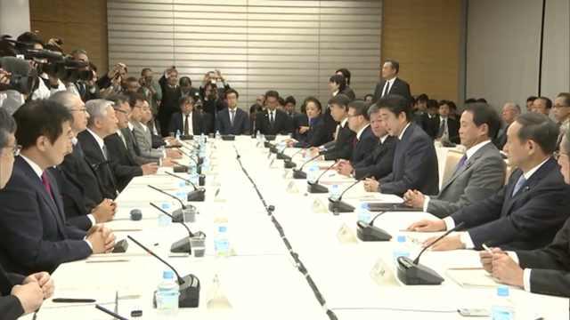 安倍:日本计划延迟退休年龄至70岁