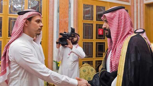 谢完沙特国王王储,卡舒吉儿子跑了