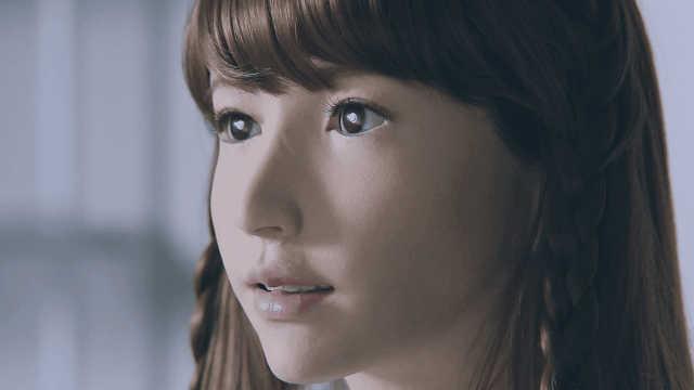 日本最美人形机器人,形态直逼真人
