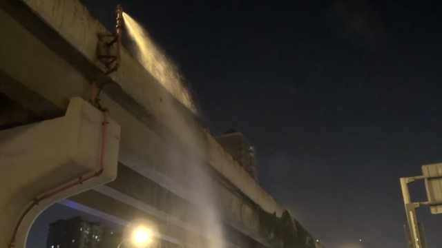 高架桥挂10米