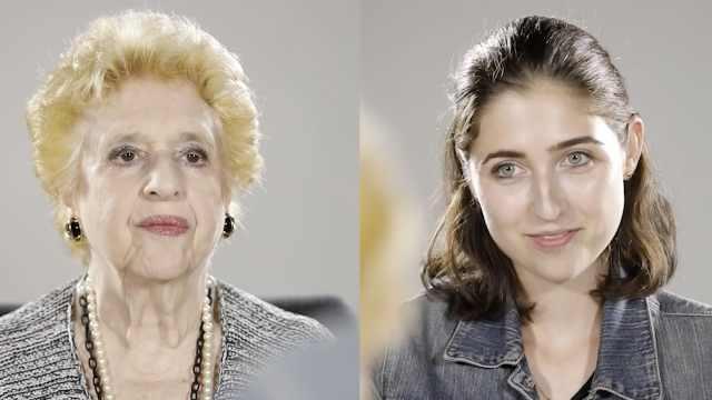 孙女与奶奶对话:我真的好怕失去你