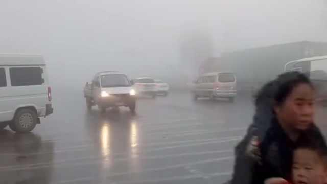 猛犸视频丨平顶山大雾致高速封闭