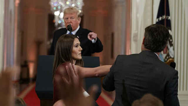 记者进白宫被拒,CNN正式起诉川普