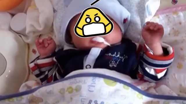 婴儿呛奶脸发青,120电话指导救孩子