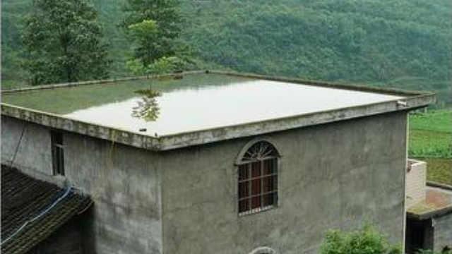 农村房子在房顶建蓄水池有什么用?