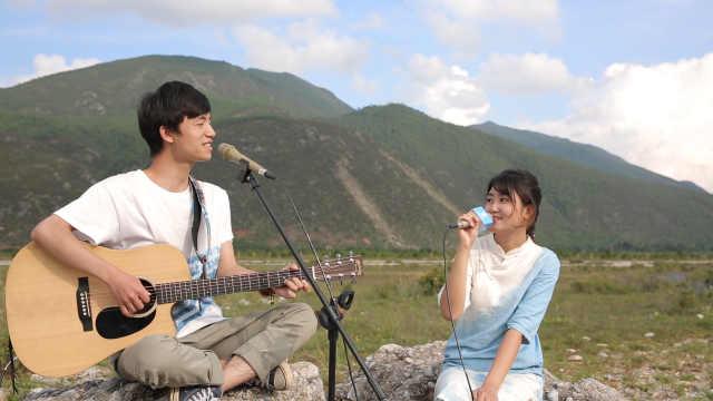 情侣合唱《想把我唱给你听》,幸福