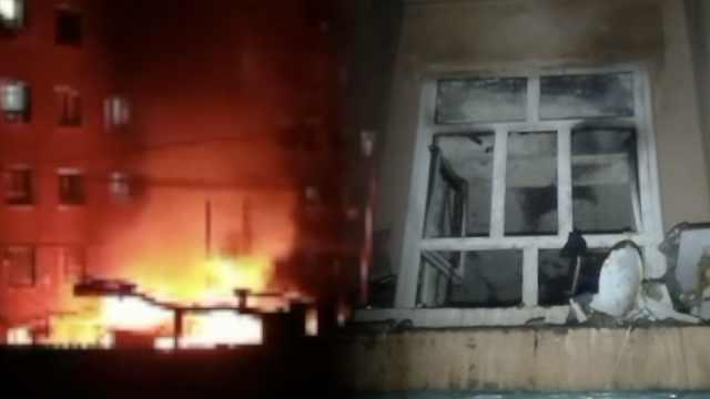 民宅起火致1人身亡,邻居躲厕所幸存