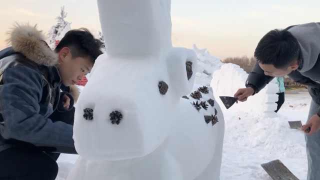 还不下雪?大学为南方学生人工造雪