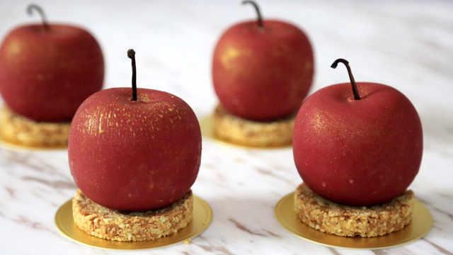 圣诞红苹果:今年最流行的圣诞甜品