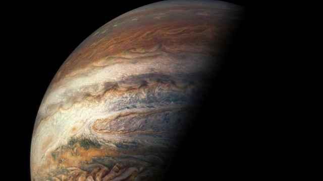 丑帅!NASA朱诺相机拍木星壮观景象