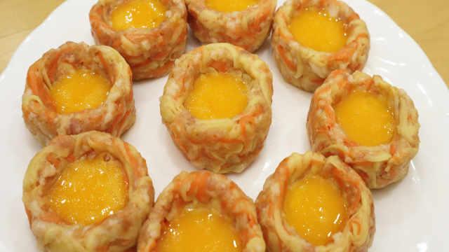 胡萝卜和鸡蛋的创意美味做法,好吃
